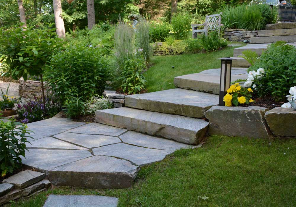 Muskoka Granite Stairs and Landings