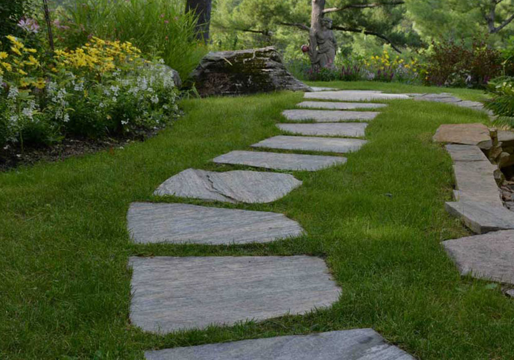 Muskoka Granite Stepping Stones
