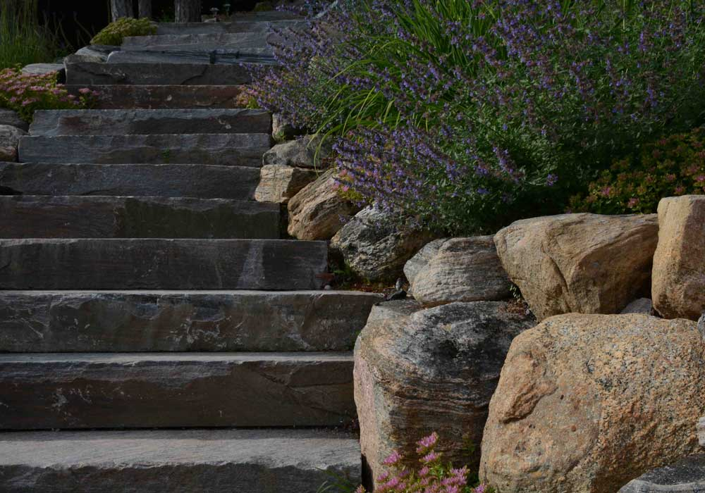 Natural Face Granite Steps
