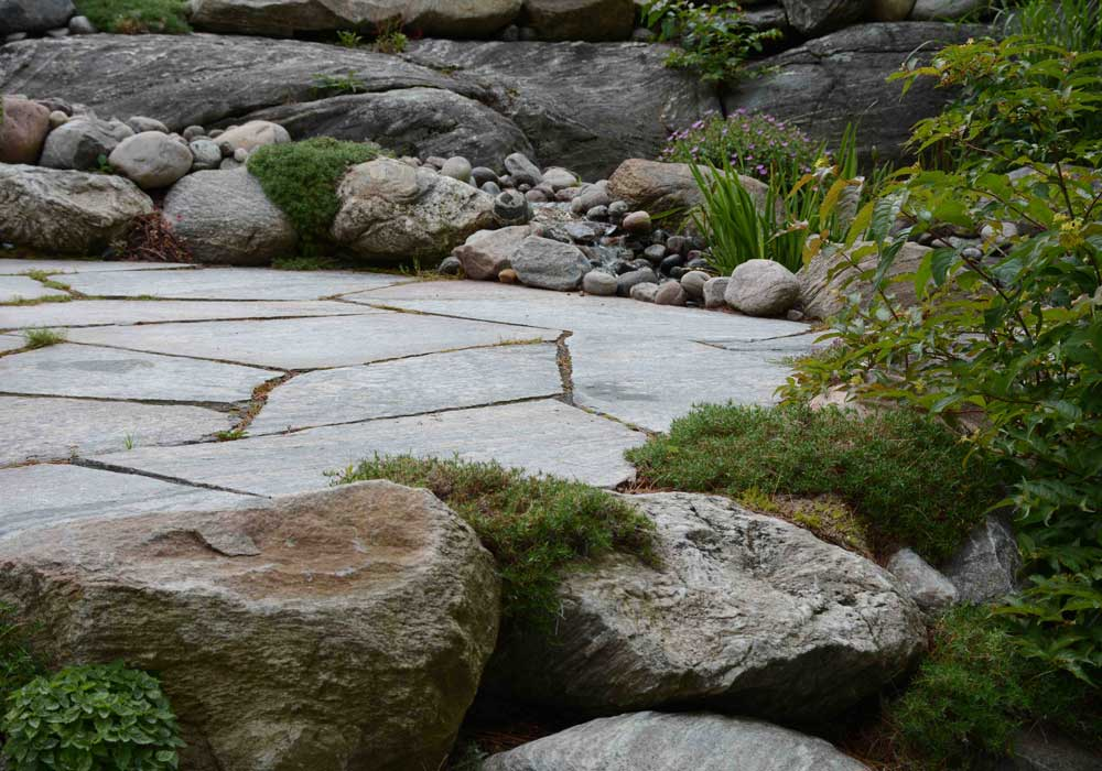 Granite Flagstone Patio