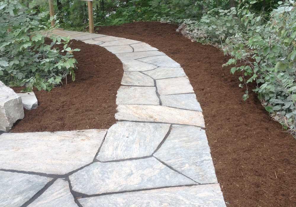 Granite Flagstone Pathway