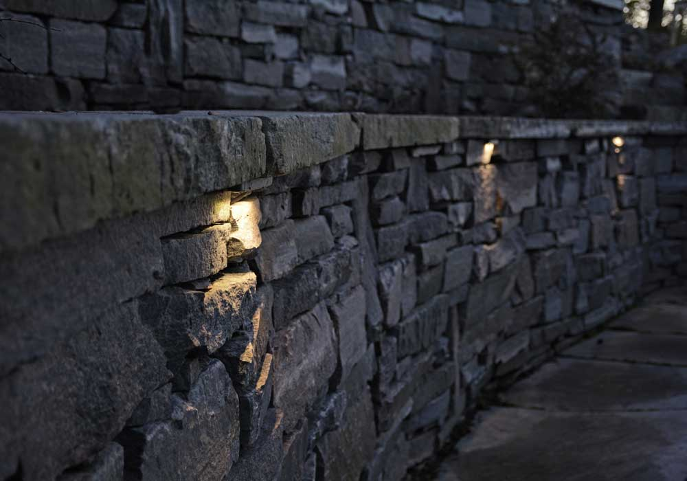 Accent Lighting for Granite Wall