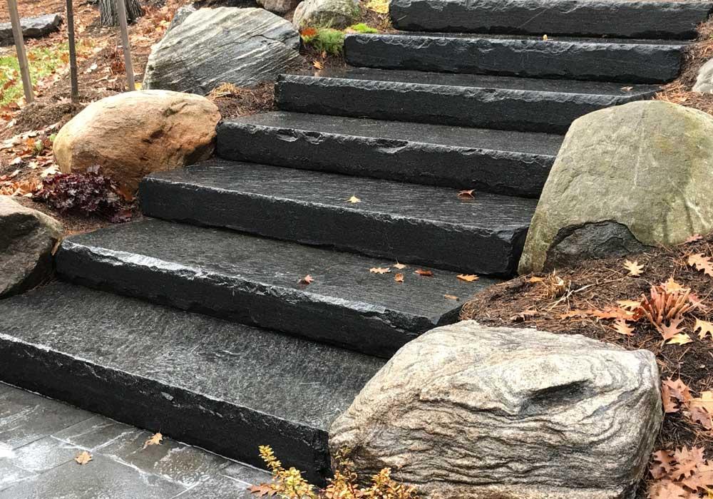 Muskoka Granite Steps